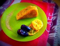 Recette du gâteau aux citrons bergamotte sans lactose, sans gluten, ni maïs, peu sucré, un must de la nutrithérapie (citrons confits et dattes bios).